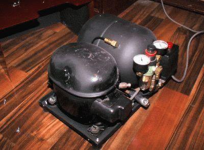 Простой компрессор