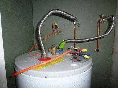Подводка водонагревателя