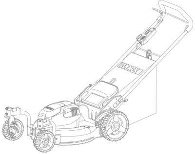 Конструкция газонокосилки