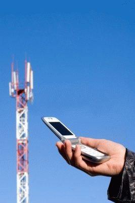 Эффективность антенны GSM в сотовом телефоне