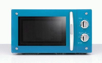Стильная микроволновая печка