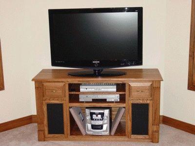 Подставка под телевизор и домашний кинотеатр