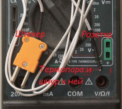 Современная термопара