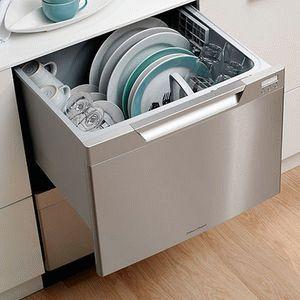 Удобная встроенная посудомоечная машина