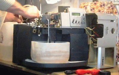 Разборка кофемашины