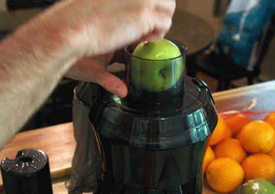 Получение сока из яблок