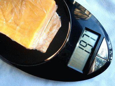 Весы с подсчётом килокалорий