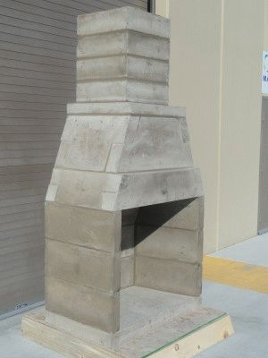 Каменный портал для камина