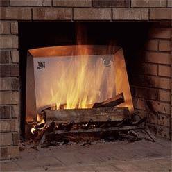 Камин с эффектом огня