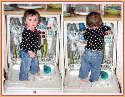Безопасная посудомоечная машина