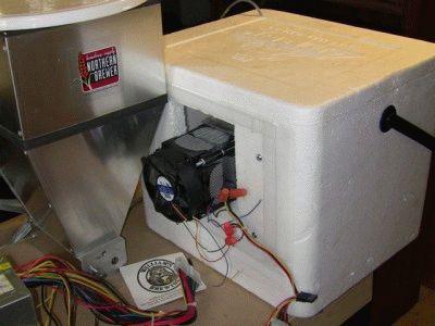 Холодильник из элементов Пельтье