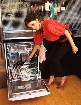 Дорогая посудомоечная машина