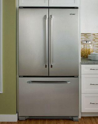 Двухдверный холодильник