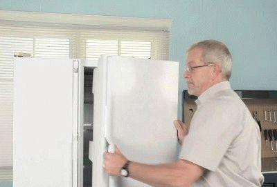 Перевешивание дверки