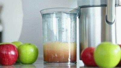Свежий сок яблочный