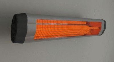 ИК ламповый обогреватель