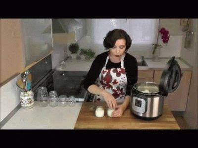 Приготовление йогурта
