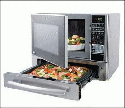 Современная кухонная печь СВЧ
