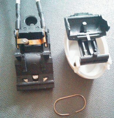 Механизм включения и выключения электрочайника