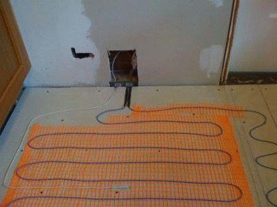 Электрический тёплый пол