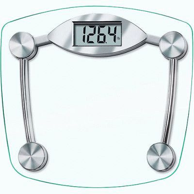 Весы стеклянные напольные