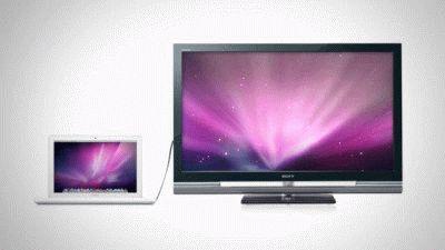 Соединение ноутбука и ТВ