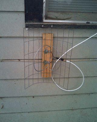 Самодельная антенна для дачи