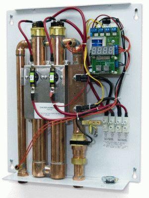 Устройство водонагревателя проточного типа