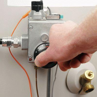 Наладка газового обогревателя