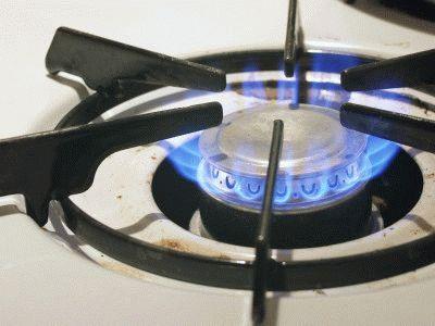 Бытовой газ для приготовления еды
