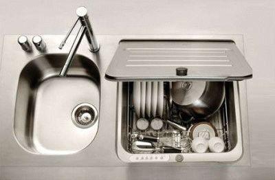 Самая маленькая посудомоечная машина Briva-in-sink