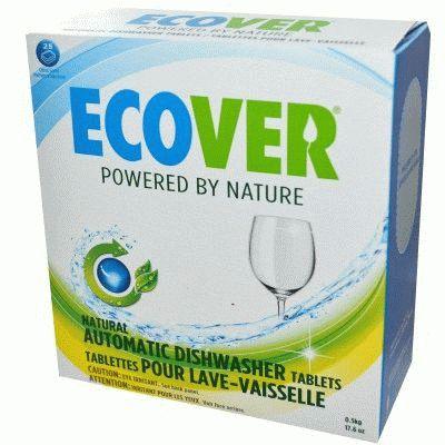 Таблетки для посудомоечной машины Ecover