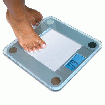 Показания весов