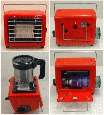 Удобный газовый обогреватель