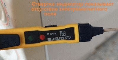 Отсутствие электромагнитного поля