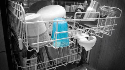 Результат работы посудомойки