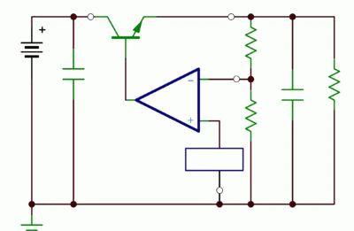 Базовый регулятор линейного напряжения