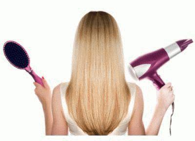 Идеальная сушка волос феном