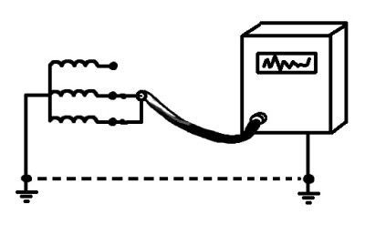 Схема трёхфазного напряжения
