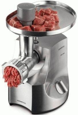 Работа мясорубки