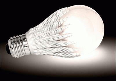 Наглядная светимость лампы