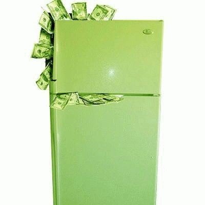 Траты за электроэнергию от холодильника