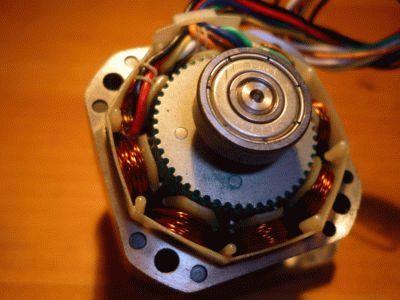 Конструкция шагового двигателя