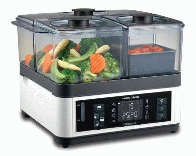 Пароварка Morphy Richards 48781