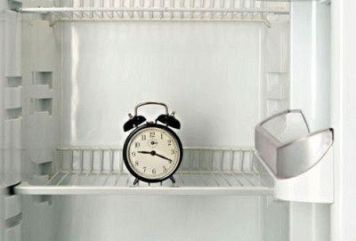 Время разморозки холодильника