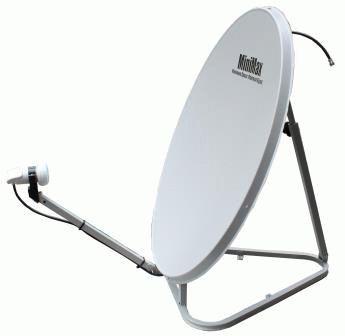 Спутниковая антенна со средним диаметром тарелки