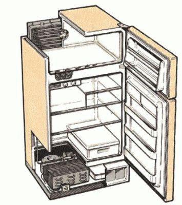 Конструкция холодильника