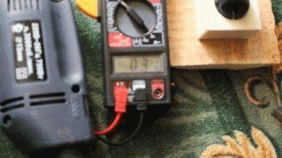 Измерение дрели