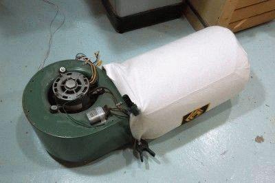 Устройство вентилятора с двигателем от пылесоса