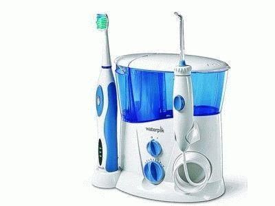 Зубная электрощётка с ополаскивателем для рта